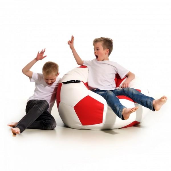 Futbol XL Blanco y Rojo