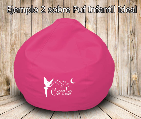 puff-infantil-rosa-personalizado-hada-nombre