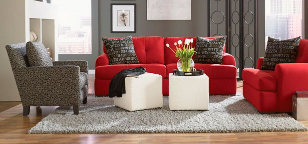 El puf, solución ideal para la decoración de tu salón