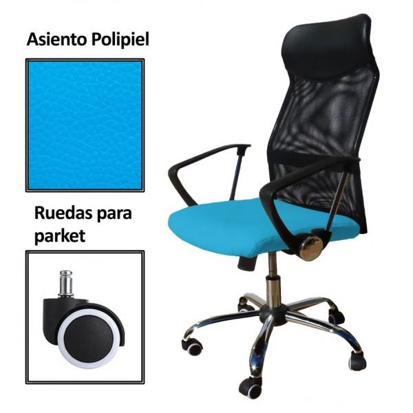 Silla de despacho Draxton Polipiel