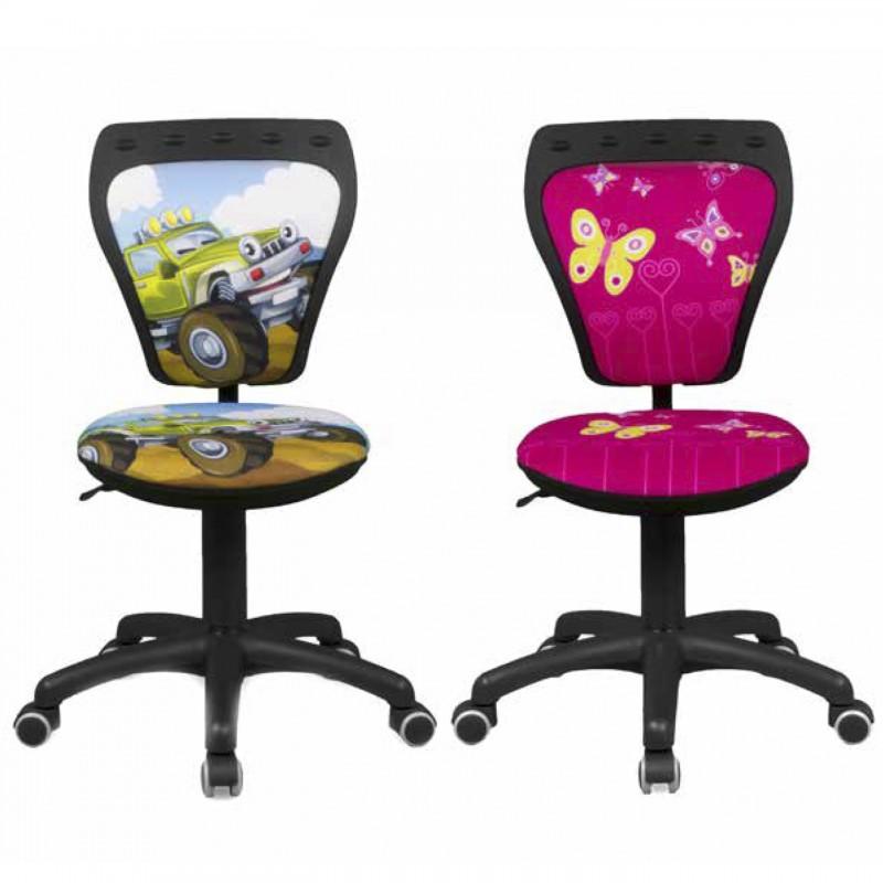 Silla de escritorio infantil con dibujo - Sillas infantiles de escritorio ...