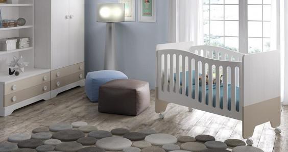 Puf para la habitación de bebé