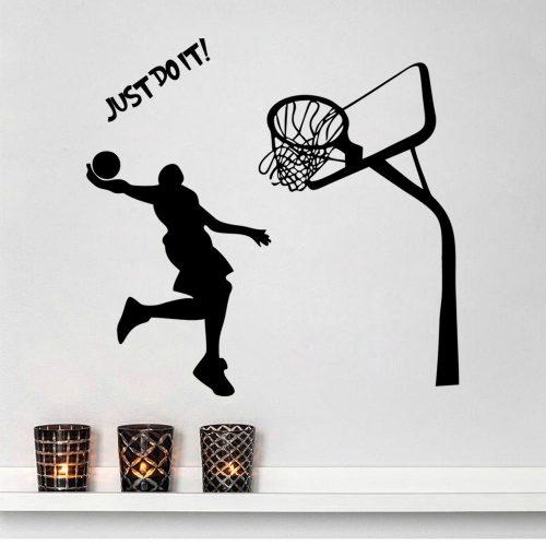 Habitación tematizada baloncesto necesita un puf basket