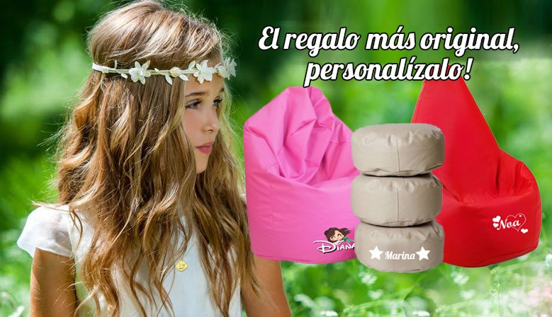 Puff ideal para regalo de comunion